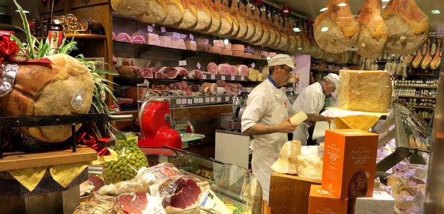 Produits italie du nord traditionnel