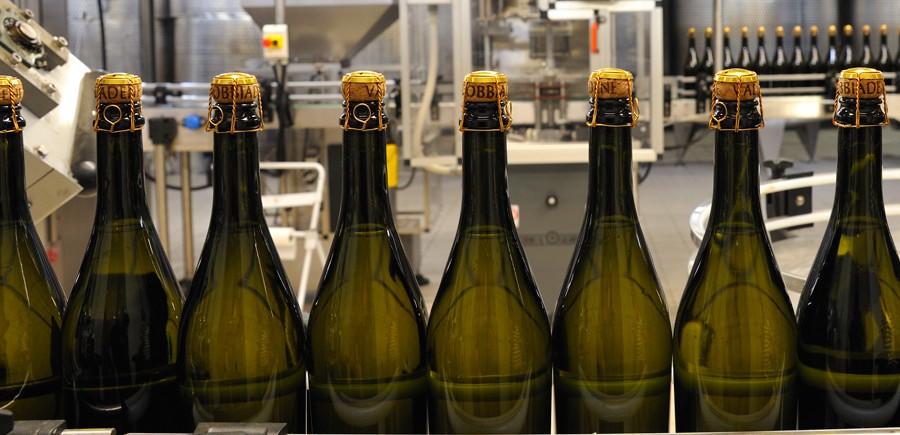 Mise en bouteille du Prosecco