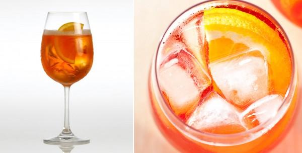 Cocktail Spritz : apérol et Prosecco