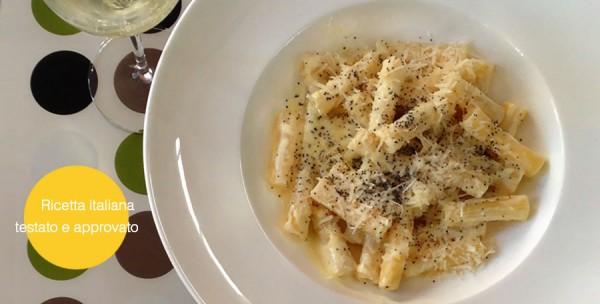 Recette italienne accord prosecco : pâtes aux citron