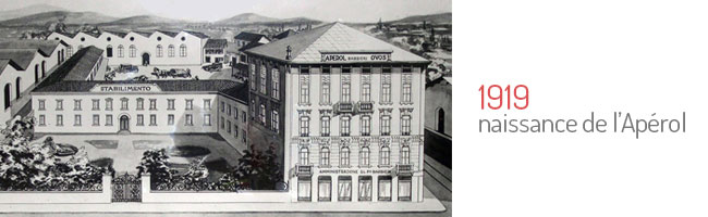 Naissance de l'Apérol en 1919