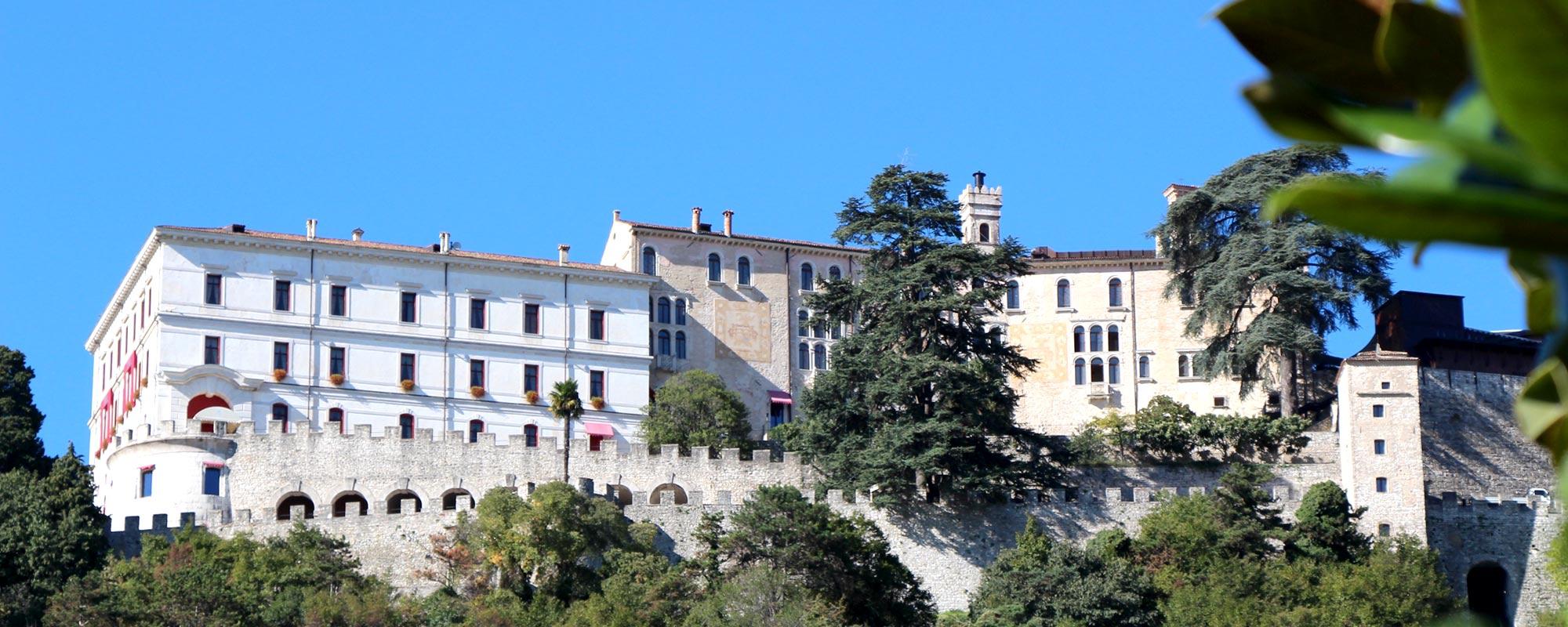 CastelBrando à Cison di Valmarino Italie