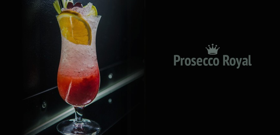 Recette du cocktail prosecco royal