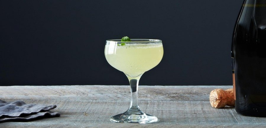 Cocktail Prosecco French Gimlet