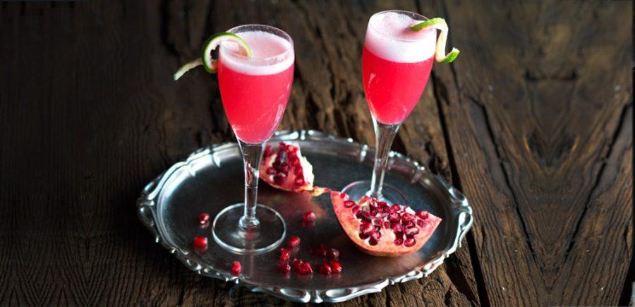 Nouveau cocktail au prosecco tintoreto